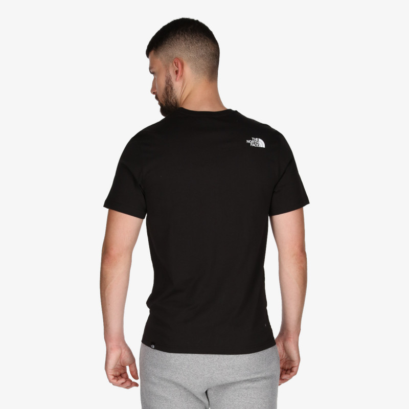 THE NORTH FACE M STANDARD SS TEE TNF BLA