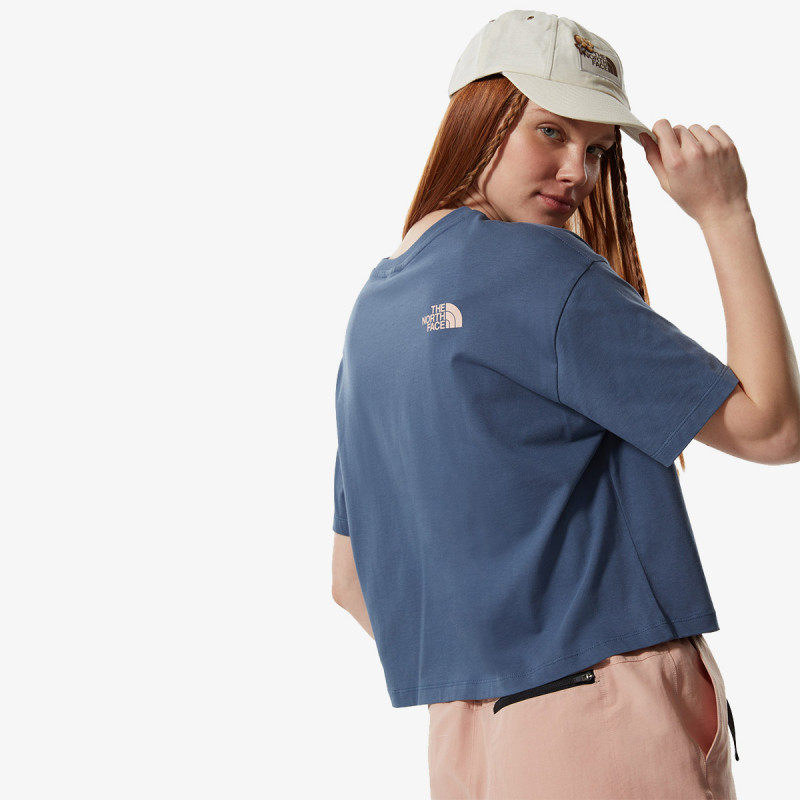 THE NORTH FACE W CROPPED EASY TEE