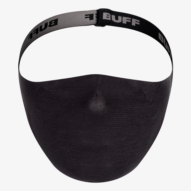 BUFF FILTER MASK SOLID BL
