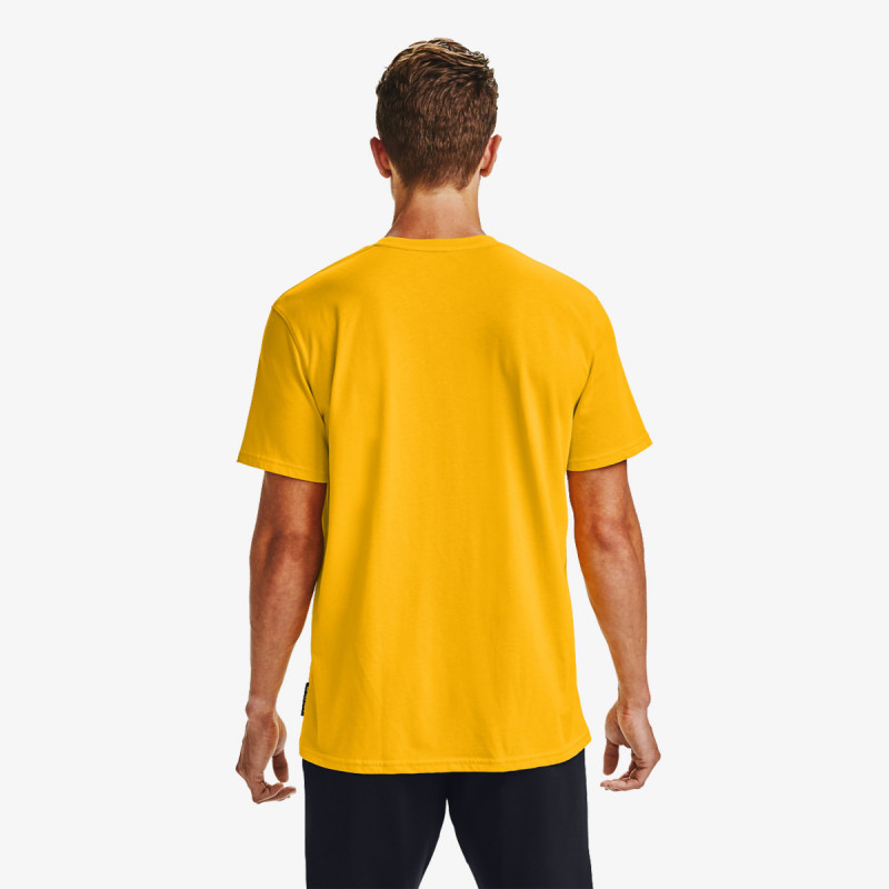 CURRY EMBROIDERED TEE